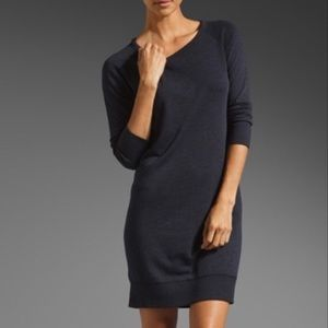 ✨SALE✨ Perse Terry Sweatshirt Neck Dress